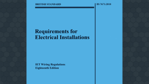 18th Edition Wiring Regulations Training